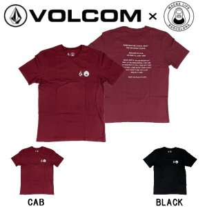 ボルコム VOLCOM MBLxVLCM SS TEE メンズ Tシャツ 半袖 マクバライフ コラボ スケートボード サーフィン アウトドア 54tide