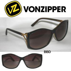 VONZIPPER ボンジッパー ROSEBUD 100%UVカットユニセックスサングラス メンズ レディース メガネ ブラック ゴールド|54tide