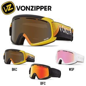 ボンジッパー VONZIPPER キッズ TRIKE スノーゴーグル スノーボード ゴーグル 子供用 100%UV 2重平面レンズ|54tide