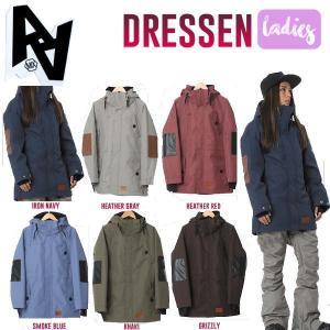 特典あり AA HARD WEAR ダブルエーハードウェア Dressen Jacket レディーススノージャケット スノーボードウェア ウエアー スノボ|54tide