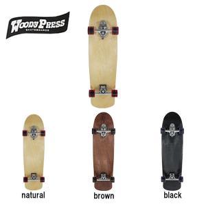 ウッディープレス WOODY PRESS SURF SKATEBOARD サーフスケートボード カービング コンプリート 3カラー 35インチ|54tide