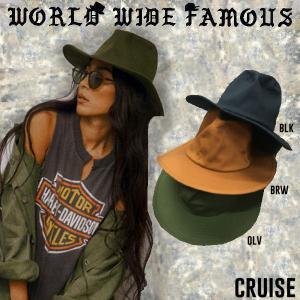 WORLD WIDE FAMOUS ワールドワイドフェイマス ハット 帽子 メンズ レディース CRUISE|54tide