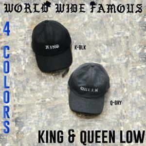 WORLD WIDE FAMOUS ワールドワイドフェイマス キャップ 帽子 メンズ レディース K&Q-LOW|54tide
