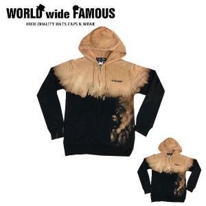 ワールドワイドフェイマス WORLD WIDE FAMOUS 2019春夏 TD ZIPUP レディース メンズ  トップス パーカー ジップアップ ブラック S・M・L・XL・XXL|54tide