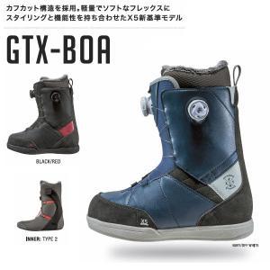 特典あり X5 クロスファイブ 2015-2016 GTX-BOA メンズスノーブーツ スノーボード スノボー|54tide