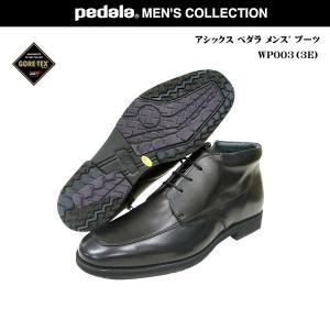 アシックス ペダラ メンズ アイスウォーク 靴 /WP 003H/WP-003HGORE-TEX ゴアテックス asics pedala ペダラ|55fujiya