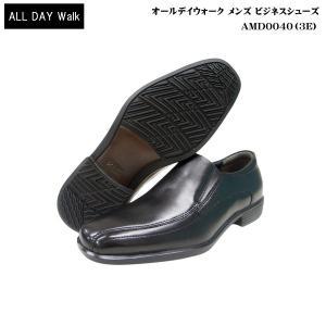 オールデイウォーク アキレス ビジネス メンズ 靴/ADM0040/ブラック/スリッポン/all day walk|55fujiya