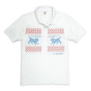 ポロシャツ メンズ レディース 半袖 猫 .NORDIC.C...