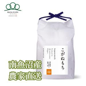 5kg 令和2年度 もち米玄米 南魚沼産こがねもち|5602miwa
