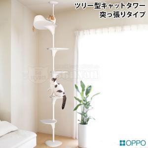 Cat Forest(キャットフォレスト)は、好みの高さにステップを設定できる自由度が魅力の、突っ張...
