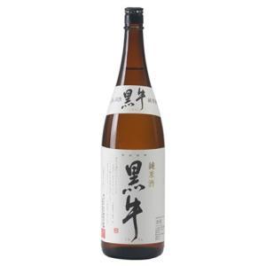【名手酒造店】黒牛 純米酒 1800ml【和歌山県】|5chisousyouten