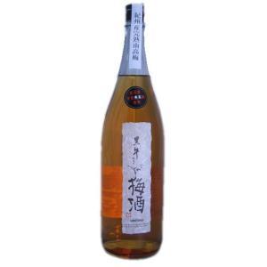 【名手酒造】黒牛仕立て梅酒 1800ml 【和歌山】|5chisousyouten