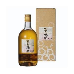 【箱入り】【萬楽歳】加賀梅酒 720ML 【石川】|5chisousyouten