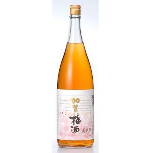 【萬楽歳】加賀梅酒 1800ML 【石川】|5chisousyouten