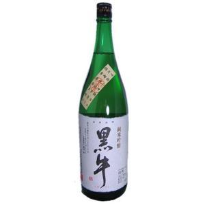 【名手酒造店】黒牛 純米吟醸 1800ml 【和歌山県】|5chisousyouten