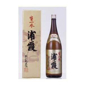【宮城】浦霞 生一本 特別純米酒 1800ml|5chisousyouten