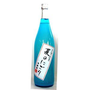 【季節限定】【クール指定】まんさくの花 夏のにごり 吟醸酒 720ml|5chisousyouten