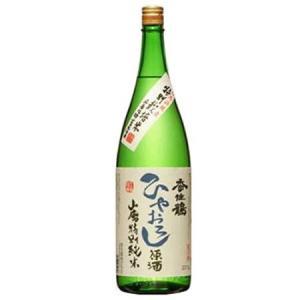 【クール指定】香住鶴 ひやおろし 原酒 山廃特別純米 1800ML 5chisousyouten