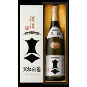 【季節限定】純米大古酒 剣菱 瑞祥 1800ml |5chisousyouten