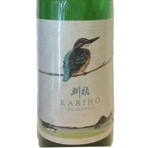 刈穂 純米吟醸 kawasemi label カワセミラベル 720ml|5chisousyouten