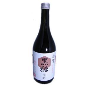 雑賀 黒糖梅酒 720ml 【和歌山】|5chisousyouten