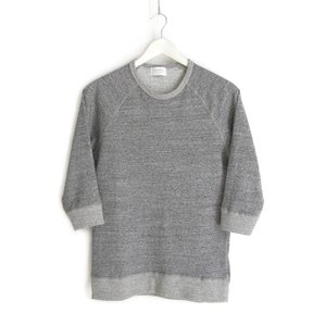FLISTFIA / (гѓ•гѓЄг'№гѓ€гѓ•г'Јг'ў) Wool Short Sleeve Pull Over -Middle Gray-