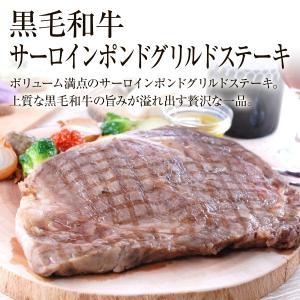 黒毛和牛サーロインポンドグリルステーキ(トリュフ醤油付き)450g×1個 トリュフ醤油30g×2 5mm