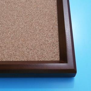 高級コルクボード(XL)/90cm×120cm  パネル  額縁  掲示板  案内板|6111185|05