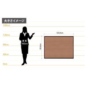 高級コルクボード(XL)/90cm×120cm  パネル  額縁  掲示板  案内板|6111185|10