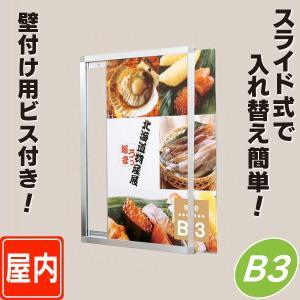 スライドパネル/B3サイズ  パネル  額縁  ポスターパネル  ポスターフレーム  ポスター入れ|6111185