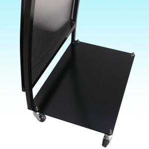 看板面加工込みステンレスカーブスタンド看板(L)  立て看板  店舗看板  ステンレス看板  コミコミ価格  送料無料 6111185 04