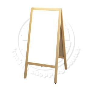 【ホワイトボード】マーカースタンド看板  ホワイトボード  立て看板  店舗用看板  両面看板  A型看板|6111185