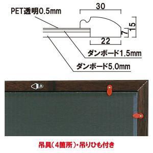 背板取り外し式額縁/A2サイズ  パネル  額縁  ポスターパネル  ポスターフレーム  ポスター入れ|6111185|03