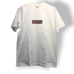 Supreme 25th Anniversary Swarovski Box Logo Tee  【...