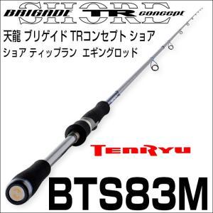 天龍 ブリゲイド TRコンセプト ショア BTS-83M 2ピース スピニング|6977