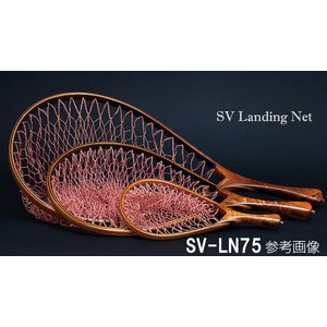 ネット ランディングネット SVランディングネット 75cm SV-LN75 シャイニングクリアフィニッシュ  ストリームビュー パームス|6977
