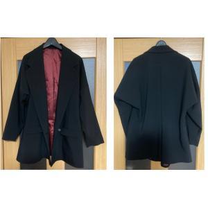 ユルカジロングジャケット 腕まくり ゴールド 金 レッド 赤 黒 ブラック 上着 アウター 男女兼用 オシャレ オリジナル ブランド 69 69rock