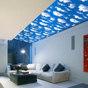激安 大容量 10m 壁紙 空 スカイ 青空 雲 ブルー 青 ステッカー シール リメイク DIY リノベ リノベーション|69rock