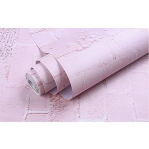 激安 大容量 10m 壁紙 ピンク レンガ 煉瓦 タイル ステッカー シール リメイク DIY リノベ リノベーション|69rock