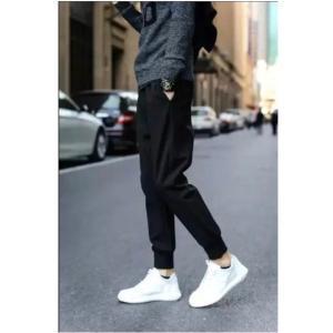 ブラック シンプル ズボン パンツ|69rock