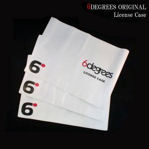 6DEGREES オリジナルライセンスケース (車検証入れ)|6degrees