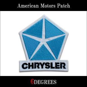アメリカンモーターズパッチ/CHRYSLER02/クライスラー|6degrees