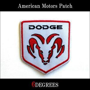 アメリカンモーターズパッチ/DODGE02/ダッジ|6degrees