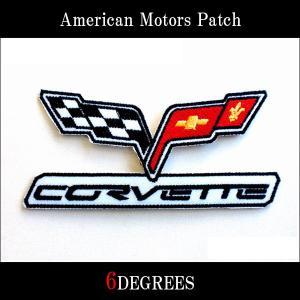 アメリカンモーターズパッチ/CORVETTE01/コルベット|6degrees