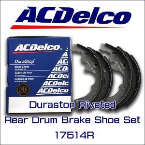 AC Delco ブレーキライニングリア2個セット 17514R/シボレー/GMC/アストロ/サファリ/〜2002y|6degrees