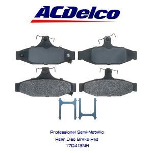 AC Delco ブレーキパッド 17D413MH/シボレー/カマロ/コルベット/トランザム|6degrees