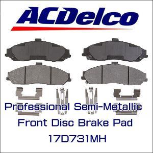 AC Delco ブレーキパッド 17D731MH フロント CHEVROLET CORVETTE C5 C6 コルベット|6degrees