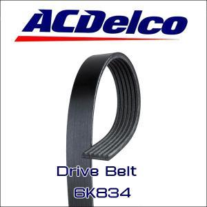 AC Delco 6K834 ドライブベルト シボレー カマロ 2010-2015 アメ車|6degrees