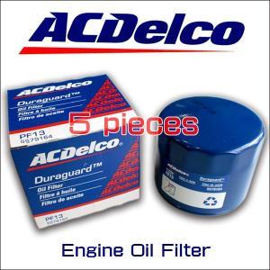 お買い得5個セット!ACデルコ エンジンオイルエレメント/PF13/アメ車/ラム/マグナム/チャージャー|6degrees