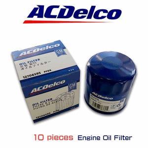お買い得10個セット! ACデルコ エンジンオイルエレメント PF64 シボレー コルベット カマロ キャデラック ATS CTS|6degrees